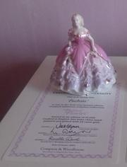 Fuschia -  Coalport Fairest Flowers with Authenticity Certificate