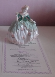 Daisy -  Coalport Fairest Flowers with Authenticity Certificates